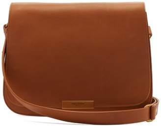 Saint Laurent Amalia Leather Satchel Bag - Womens - Tan