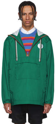 Acne Studios Green Osaze Anorak Jacket