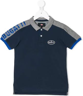 Bugatti Kids colour-block polo shirt
