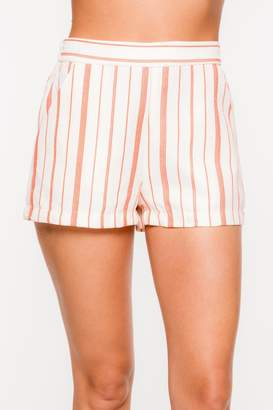 Everly Striped Print Shorts