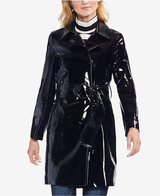 Vince Camuto Faux-Leather Trench Coat