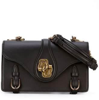 Bottega Veneta double strap satchel bag