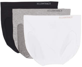3pk Seamless Logo Hi Cut Panties