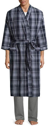 STAFFORD Stafford Men's Broadcloth Kimono Robe