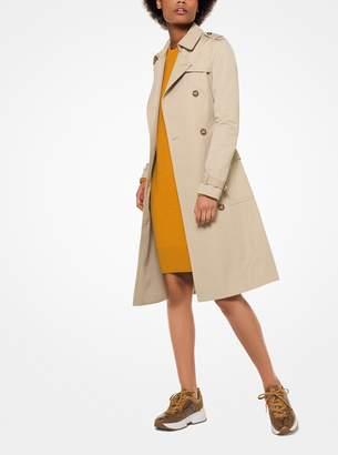 MICHAEL Michael Kors Sateen Trench Coat