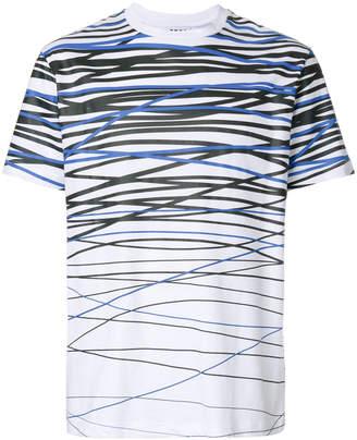 Les Hommes Urban line print T-shirt