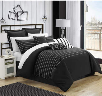 Chic Home Brenton 9-Pc Queen Comforter Set Bedding