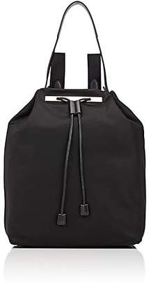 The Row Women's Leather Drawstring Backpack 11 - Black