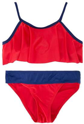 Duskii Girl colour block bikini