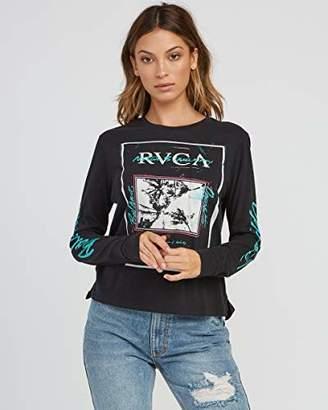 RVCA Junior's Balance Flyer Long Sleeve T-Shirt