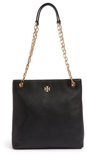 Tory Burch Frida Swingpack Leather Crossbody Bag - Black