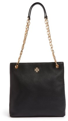 Tory Burch Frida Swingpack Leather Crossbody Bag - Black $428 thestylecure.com