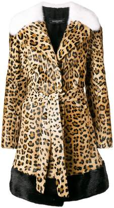 Simonetta Ravizza Ester leopard coat