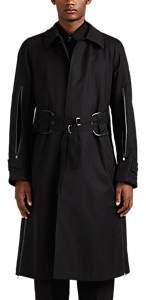 Takahiromiyashita theSoloist Men's Reversible Cotton & Wool Trench Coat - Black
