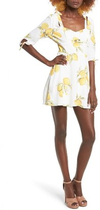 Women's For Love & Lemons Limonada Minidress $194 thestylecure.com