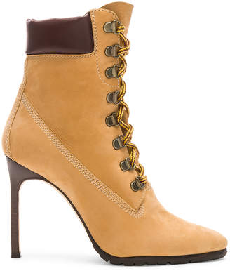 Manolo Blahnik Nubuck Leather Oklamod Boots