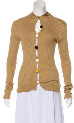 Jacquemus Cowl Neck Cardigan Sweater