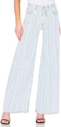 Off-White Diagonal Straight Leg Pant.