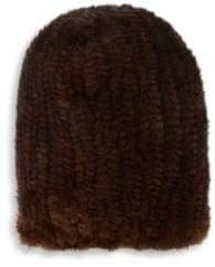 Surell Mink Fur Beanie