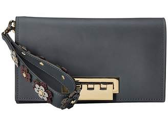 Zac Posen Earthette Clutch-Hex Floral Clutch Handbags