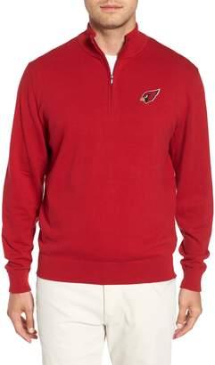 Cutter & Buck Arizona Cardinals - Lakemont Regular Fit Quarter Zip Sweater