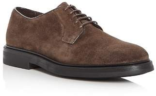 a. testoni A.Testoni Men's Suede Derby Shoes