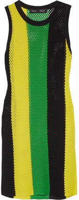 Proenza Schouler - Striped Open-knit Top - Yellow $670 thestylecure.com