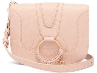 See by Chloe Hana Leather Cross Body Bag - Womens - Light Pink