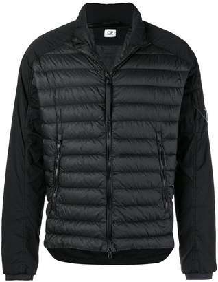C.P. Company quilted bomber jacket