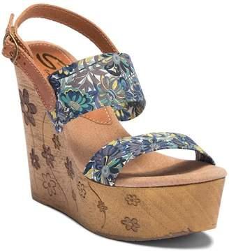 Sbicca Fabiana Platform Wedge Sandal