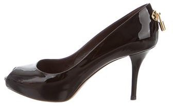 Louis Vuitton Patent Oh Really! Pumps