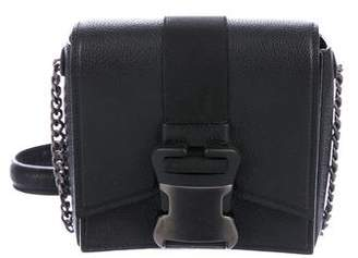 Christopher Kane Leather Buckle Crossbody Bag
