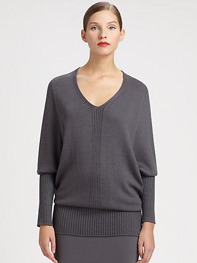 St. John Blouson Sweater