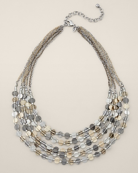 Chico's Asha Short Necklace