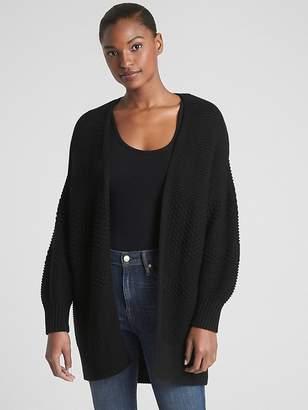 Gap Mix-Knit Cocoon Cardigan Sweater