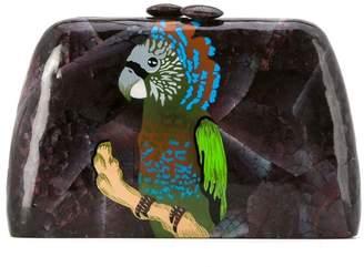 Mother of Pearl Serpui bird clutch