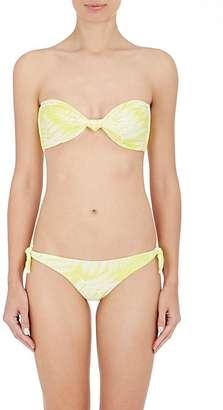 Mikoh Women's Carmel Bandeau Bikini Top $112 thestylecure.com