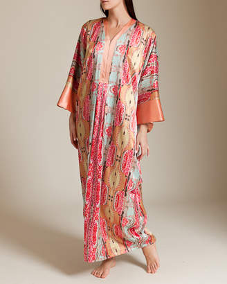 Daniel Hanson Silk/Cotton Kaftan
