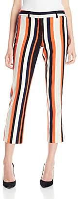 Jones New York Women's Stripe Dobby Texture Ankle Pant $60.66 thestylecure.com