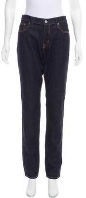 Earnest Sewn Mid-Rise Jeans