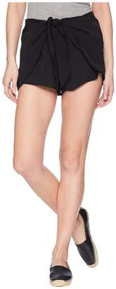 BB Dakota Quinn Tie Front Shorts Women's Shorts
