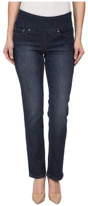 Jag Jeans Petite Petite Peri Pull-On Straight in Anchor Blue Women's Jeans