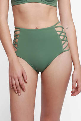 Tori Praver Dami Hi Waist Bikini Bottoms