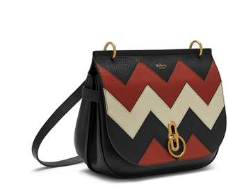 italy at mulberry mulberry amberley satchel black rust and chalk zig zag  small classic grain d7d2b 497e645052e14