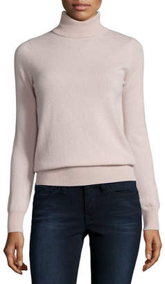 Neiman Marcus Cashmere Collection Classic Long-Sleeve Cashmere Turtleneck $125 thestylecure.com