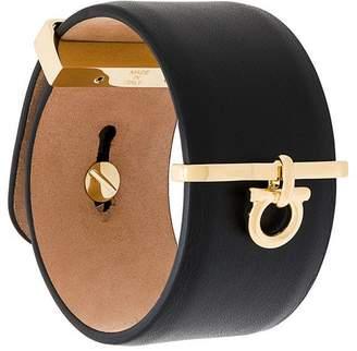 Salvatore Ferragamo Gancio charm cuff bracelet