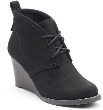 So SO Blog Women's Wedge Ankle Boots