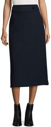 Tibi Women's Anson Stretch Tab Skirt
