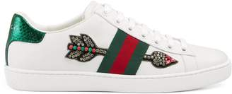 Ace embroidered sneaker $695 thestylecure.com