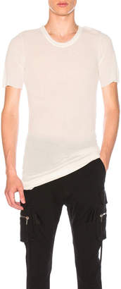 Rick Owens Basic Short Sleeve Tee